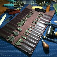 #noti_2015 #leather #leathertools #tools #leathercase #leathercraft #leathergoods #leatherlove #hongkong #hongkongleather