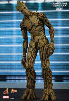 Hot Toys : Guardians of the Galaxy - Groot 1/6th scale Collectible Figure
