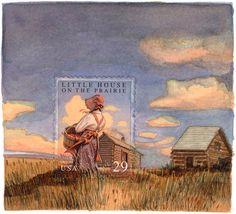 Artista Molly Rausch expande selos de cartas para fazer telas.