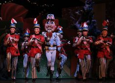 The nutcracker (Joan Boada) marches with toy soldiers in the San Francisco Ballet's annual production of the Nutcracker at the War Memorial ...