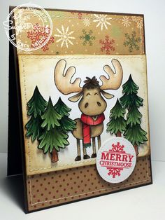 "SugarPea Designs ""Merry Christmoose"" by Tracy Valure"