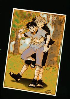 KidIruka and KidKakashi by flightangel on deviantART KakaIru - Kakashi x Iruka