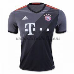 Billiga Fotbollströjor Bayern Munich 2016-17 Kortärmad Borta Matchtröja