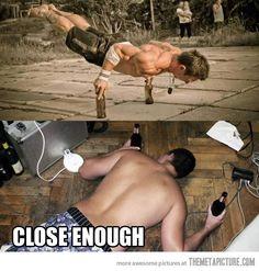 Close enough.