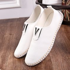Find More Information about Men casual shoes 2016 new mens walking shoes mens Slip on white non slip bottom spring and summer casual PU leather flat Casual Sneakers, Sneakers Fashion, Casual Shoes, Men Casual, Slip On Shoes, Men's Shoes, Shoes 2016, Shoes Men, Male Shoes
