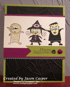 FABFRI01 Googly Ghouls by Scrappindad - Cards and Paper Crafts at Splitcoaststampers