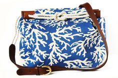For Sue: Cape Codder bag, Ellen Coral Garden //  Kiel James Patrick