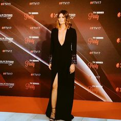 #StanaKatic at the #TVseries Party. @festivaltvmonte_carlo