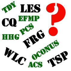 MOMentarily Distracted: Army / Military Acronyms & what they mean!