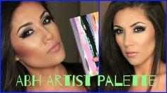 Anastasia Beverly Hills ##Artist #Palette I #SmokeyBlue #Makeup Look #artistpalette #ABH #anastasiabeverlyhills #navylook #navyeyes #Smokeyeyes #Beauty #makeup