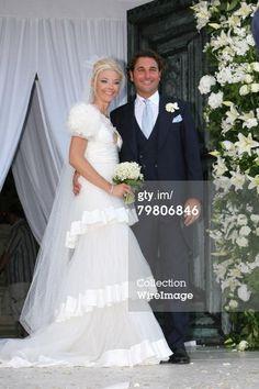 News Photo: Tamara Beckwith and Giorgio Veroni at their wedding…