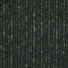 Black/Lime Checkered Blended Wool Coating