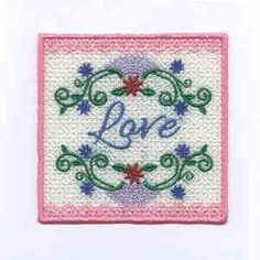 "This free embroidery design is from Design's by Sick's ""Candle Wrap"" collection."