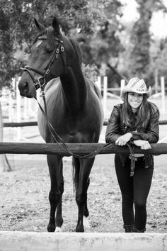 Picture I have to get taken when I own a horse <3