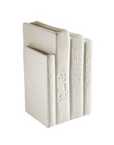 Biblio Tek Porcelain Bookvase design by Seletti