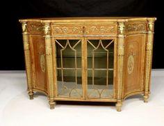 1920s Furniture, Art Nouveau Furniture, Upcycled Furniture, Home Decor Furniture, Furniture Design, Antique Interior, Antique Desk, Luxury Interior Design, Interior Architecture