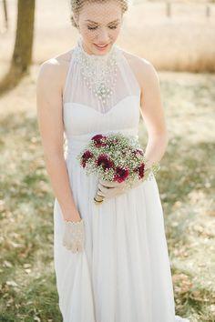 Custom/Handmade Vintage Laces Wedding Dress #wedding #dress www.loveitsomuch.com