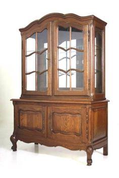 西洋アンティーク輸入家具ディスプレイキャビネット飾り棚27827 インテリア 雑貨 Antique cabinet ¥116000yen 〆04月26日