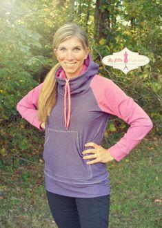 Compass Sweatshirt PDF Sewing Pattern Instant by MyLittlePlumcake