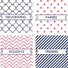 Free Printables Archives - Page 2 of 9 - Mirabelle Creations