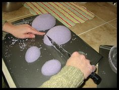 cherrry bubbins: Panoramic Sugar Easter Egg Tutorial