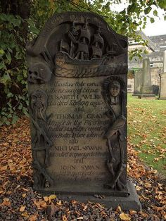 A tombstone to die for. #cemetery #graveyard #pirate