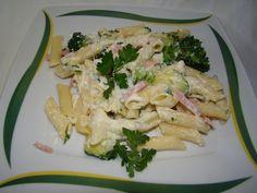 zöldséges, sonkás, sajtos penne :: Ami a konyhámból kikerül