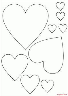 Панно из бумажных сердечек. Обсуждение на LiveInternet - Российский Сервис Онлайн-Дневников Valentine Decorations, Valentine Crafts, Valentines, Fabric Hearts, Sign Stencils, Cute Coloring Pages, 3d Paper Crafts, Heart Crafts, Applique Patterns