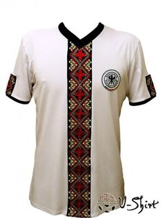 Exclusive EURO 2012 t-shirt GERMANY with Ukrainian Embroidery,Trendy Souvenir