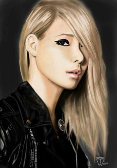 Lee Chae-Rin of the group 2NE1