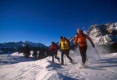 Hochpustertal: Schneeschuhwanderungen im verschneiten Südtirol
