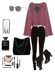 Tori Vega Style / Estilo da Tori Vega  by camibg on Polyvore featuring polyvore fashion style River Island Gucci Ray-Ban Kate Spade Burberry Chanel clothing