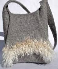 Image result for felt handbag