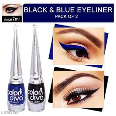 Checkout this latest Cleansers Product Name: *Color Diva Black & Blue Eyeliner (Pack of 2) * Product Name: Color Diva Black & Blue Eyeliner (Pack of 2)  Multipack: 2 Add On: Eyeliner Country of Origin: India Easy Returns Available In Case Of Any Issue   Catalog Rating: ★3.9 (278)  Catalog Name: Color Diva/Kremline Eyeliner/Eyeshadow Vol 1 CatalogID_374726 C51-SC1241 Code: 081-2763192-055