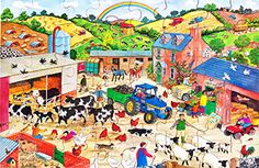 This #lively puzzle shows how #animals are part of our world giving the #chance to #discuss and #promote good animal #husbandry.