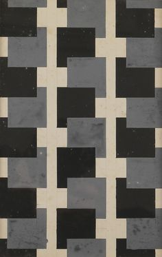 thunderstruck9: Varvara Stepanova (Russian, 1894-1958), Fabric design, c.1924. Gouache, 26.5 x 16.5 cm.