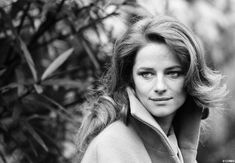 Charlotte Rampling -- 60s model/bombshell and a really fantastic actress.