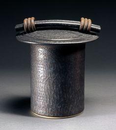Black Storage Jar: Jan Schachter: Ceramic Jar - Artful Home