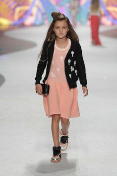 ZsaZsa Bellagio: Little Girl Glamour ST. Girls SS2014 Amsterdam Fashion Week