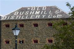 The Old Bushmills Distillery, Co Antrim Northern Ireland. I've smelled heaven, and it's at the Old Bushmills Distillery