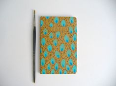 moleskine notebook  best ideas ever hand painted by MessyBedStudio, $12.00