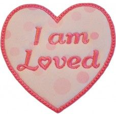 FREE - I am Loved Applique by Five Star Fonts