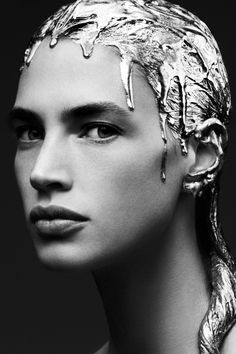 """hautebasics: Crista Cober in """"Persephone"""" by Miguel Reveriego for Beauty Papers Magazine, Summer 2015."""