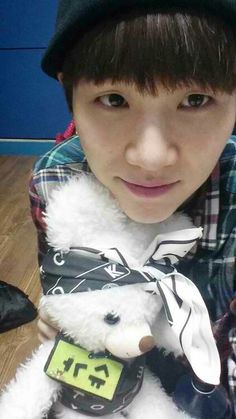 Min Yoongi ❤ Suga bear is so cute! Jimin, Jungkook Jeon, Min Yoongi Bts, Min Suga, Bts Bangtan Boy, Bts Predebut, Namjoon, Taehyung, Jung Kook
