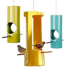 Awesome bird feeder.
