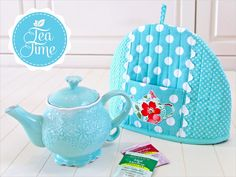 You Asked 4 It: Pretty Teapot Cozy - tutorial, pattern and appliqué | Sew4Home