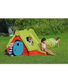 Chad Valley Funtivity Playhouse.: Give the kids their own fun cottage at the end of the garden with this Chad Valley Funtivity Playhouse.…