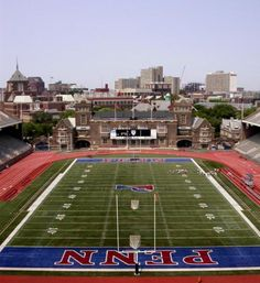 """""""As I walked out of the Franklin Field, physically and emotionally exhausted, I could not believe it.  I had just witnessed the longest Ivy game ever, and we had won!  Even after facing the precipice of defeat multiple times, each time we were able to pull away from the ledge and keep fighting.  Many sports adages are relevant here, such as 'It's not over 'til it's over.'  That was definitely true in this case..."""" - from the post """"A Memorable Day at Franklin Field"""""""