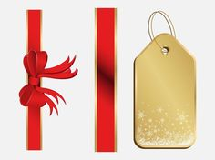 Christmas Present Decorations vector free