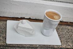Teşvikiye - Home, coffee break  Pasta / Cake: Ev+ Fincan / Cup: Paşabahçe